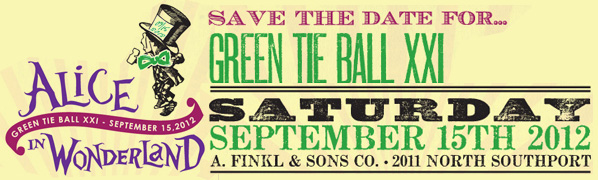 green tie ball